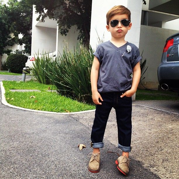 I'm probably going to end up dressing my sons like this someday