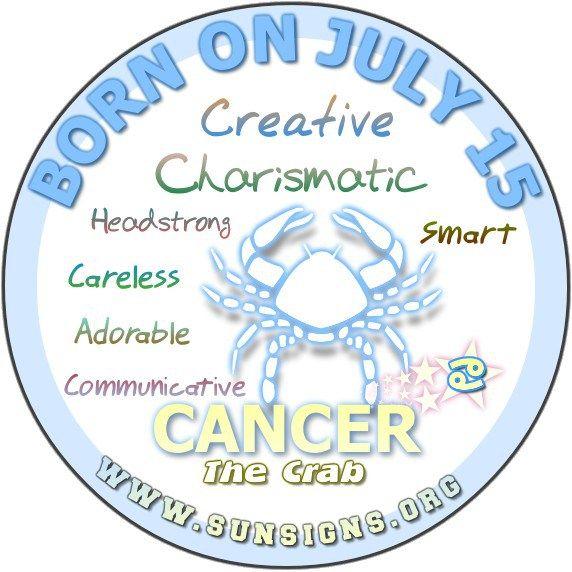 July 15 Birthday Horoscope Personality » Sun Signs
