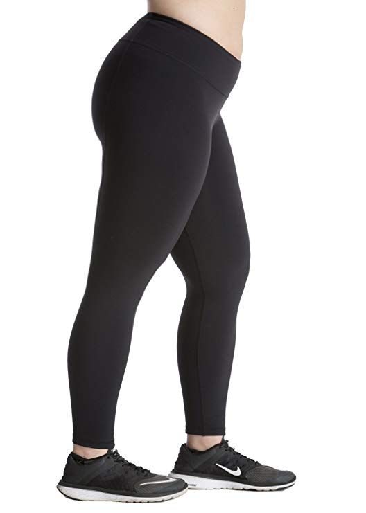 0ce8594232 Plus Size Leggings - Premium Quality Women's Compression Yoga Pants for The Curvy  Girl - Made