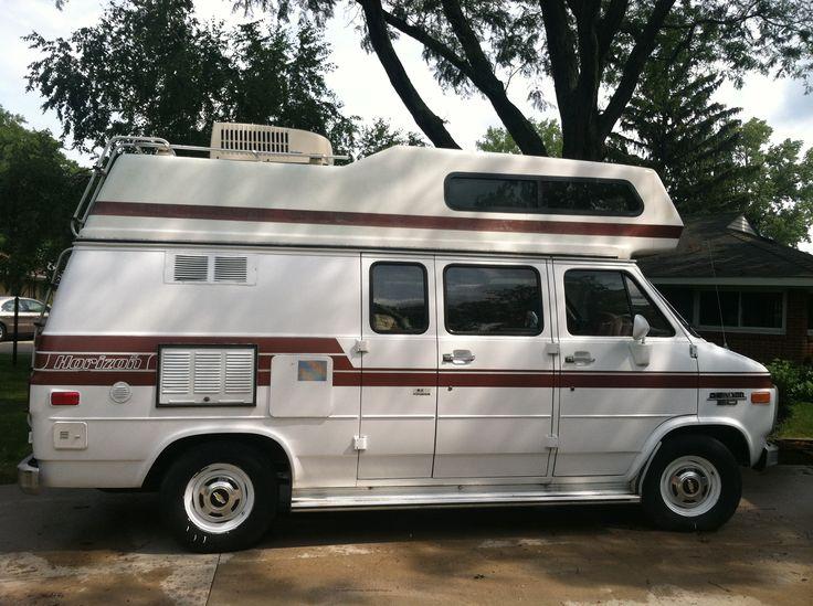 Our 1989 Chevy Horizon Camper Van. | Our Camper Van ...
