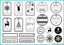 Zobacz zdjęcie Pomysły na świąteczne etykietki