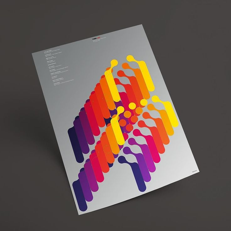 This poster for TYPO Labs is going to look strong with that Pantone 877 metallic…