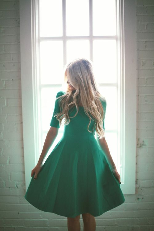 Kate Spade dress in green