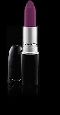 ✔ (merci mon 21eme anniversaire) Rouge à lèvres teinte Heroïne by Mac parce que j'ai envie d'essayer le violet, le vrai