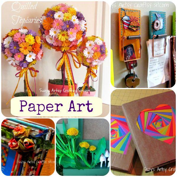Paper art crafts from @suzyssitcom #paper art