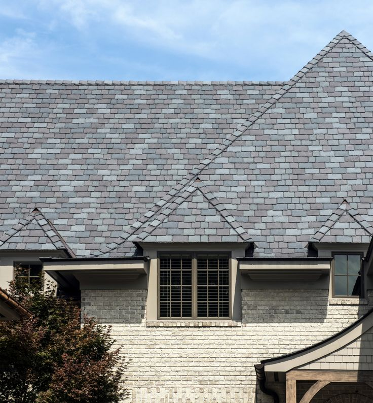 17 best ideas about slate roof on pinterest steel for Modern roof shingles