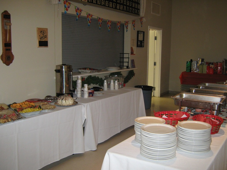 This year we served it buffet style