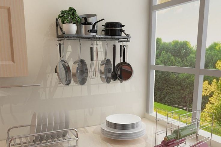 Amazon Deal of the Day: Top-Rated Kitchen Pot Rack | Apartment Therapy