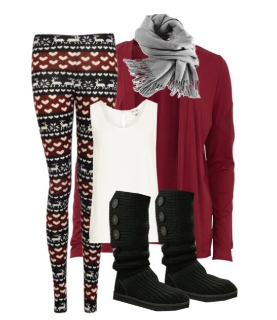2142be6f87675 Comfy cute Winter outfit - 'ugly Christmas sweater' tights and uggs | My  style <3 | Cute winter outfits, Fashion boots, Winter outfits