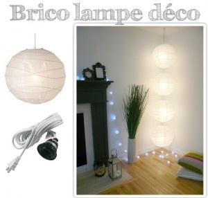Réaliser une lampe suspendue pour la maison - Projet brico | Muramur