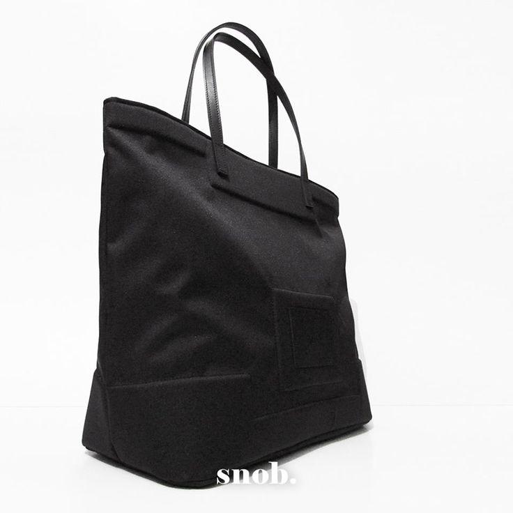 snob.tote #snob #snobdot #embossed #skull #black #canvas #leather #tote #handbag