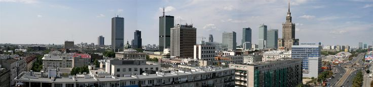 Widok na centrum miasta