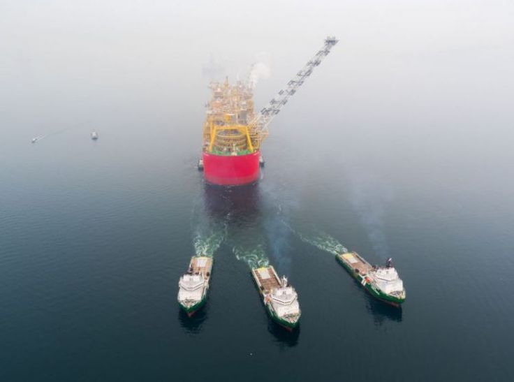 Videos: Shell's Prelude FLNG on way to Australia