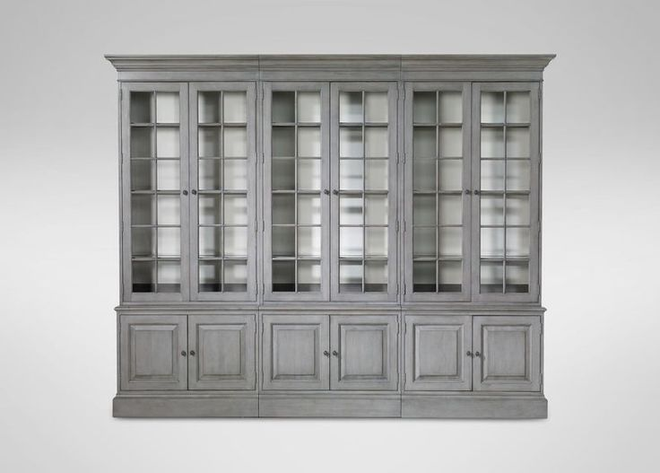 Buy Ethan Allenu0027s Villa Triple Library Bookcase Or Browse Other Products In  Bookcases.