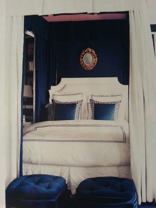 Royal Blue Bedroom Image Review