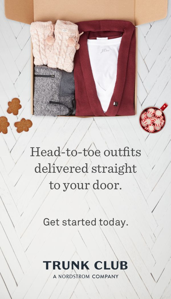 Meet your stylist. Choose a budget. Only pay for the items you keep. Sign up today.