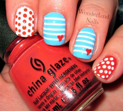 Wonderland Nails #nail #nails #nailsart