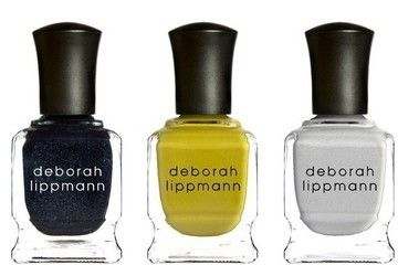 Edgy matte polishes took center stage this year, and Deborah Lippmann had us totally on board with her trio of spackle-texture, matte-finish lacquers inspired by the punk scene. Not only were we crazy about the shades from her Punk Rock Collection, but we couldn't get over their classic Deborah tongue-in-cheek names: I Wanna Be Sedated, a rich green-yellow; Pretty Vacant, a cool dove gray; and I Fought the Law, a deep navy sparkle.