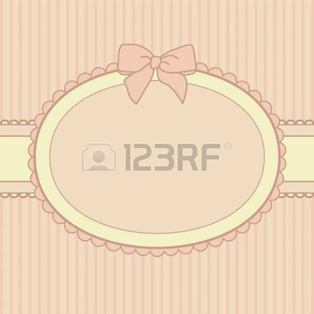 cornici romantiche: rosa vacanza design del telaio