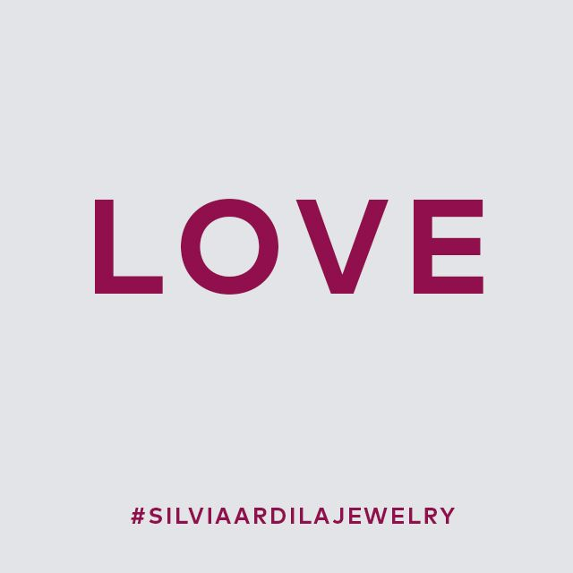 No matter what, love is always there  <3 #silviaardilajewelry