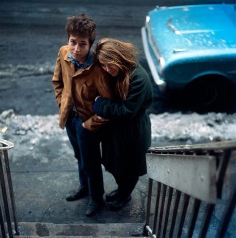 Bob Dylan and Suze Rotolo (1963).