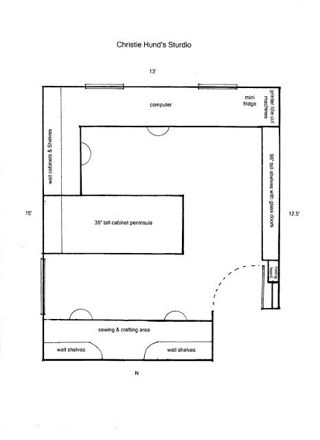 Here S A Basic Layout Of My Studio With Some Of The Dimensions I