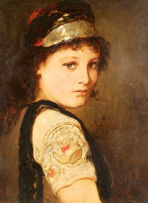Girl from Megara - Gyzis Nikolaos.