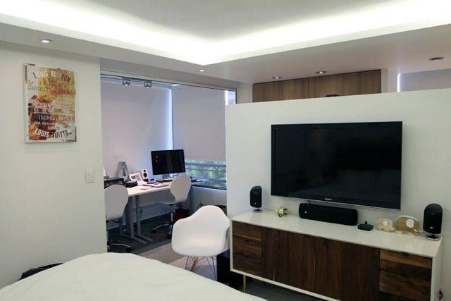 Bedroom  1 ambiente Loft Deco Ideas Soffit / Cenefa  LED