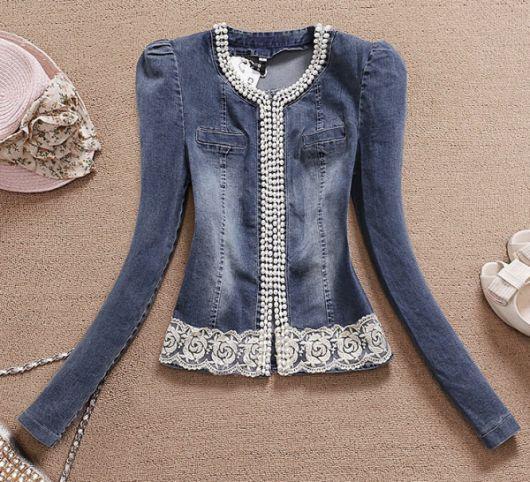 Como Customizar Jaqueta Jeans – 43 Ideias Incríveis & Tutoriais Simples!