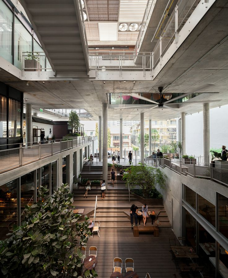 The Commons - Courtesy of Department of ARCHITECTURE - Photography : W Workspace