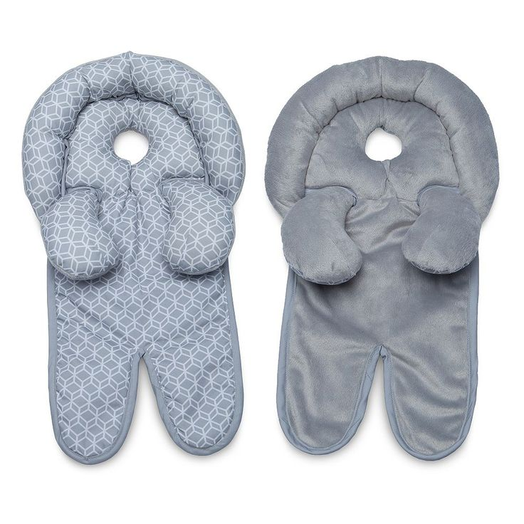 Boppy Head and Neck Support Pillow, Grey