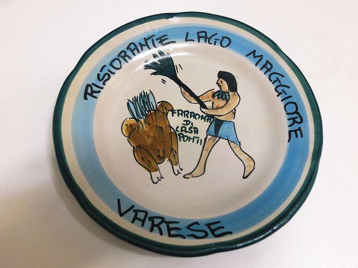 Piatto del buon ricordo - Ceramica Solimene Vietri - Italy di Piattidelbuonricordo su Etsy