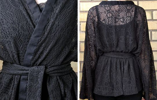 Simple Kimono tutorial  - the basic pattern is great to use to be able to make many different tops and jackets.