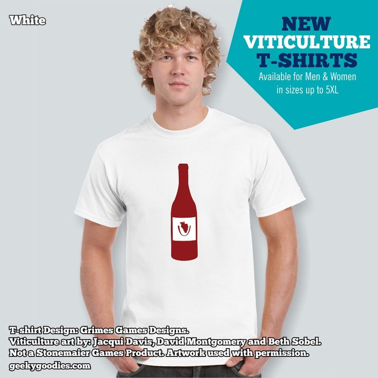 Viticulture is my favourite #WorkerPlacementGame so I'm so excited to offer this Viticulture T-shirt on our site!  https://www.geekygoodies.com/viticulture Not a Stonemaier Games Product. Artwork used with permission. #Viticulture #tshirts #shirts #Stonemaier #GeekyGoodies