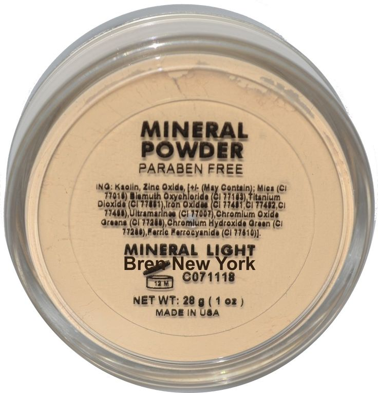 Mineral Light Loose Foundation Powder Paraben Free Exceptionally lightweight Mineral Loose Powder for long lasting coverage with a luminous glow. Helps reduce the appearance of fine lines while promoting a radiant, natural glow