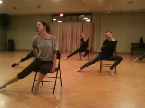 Broadway Jazz Routine - good chair dancing moves to remember