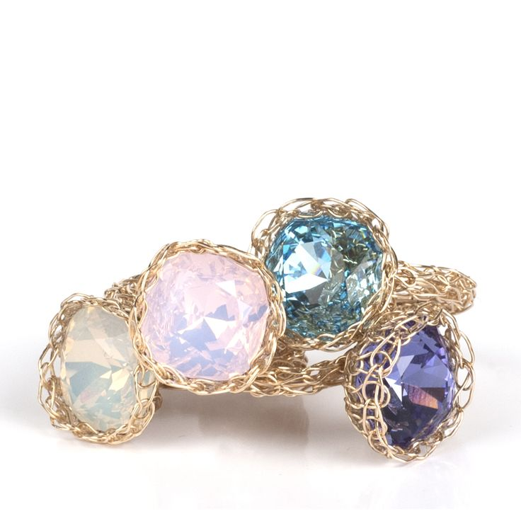 Enchanting Wire Crochet Rings Picture Collection - Simple Wiring ...
