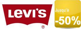 La boutique officielle Levi's solde jusqu'à -50% une sélection de looks