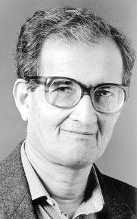 Amartya Sen, Nobel Prize winner in Economic Sciences 1998