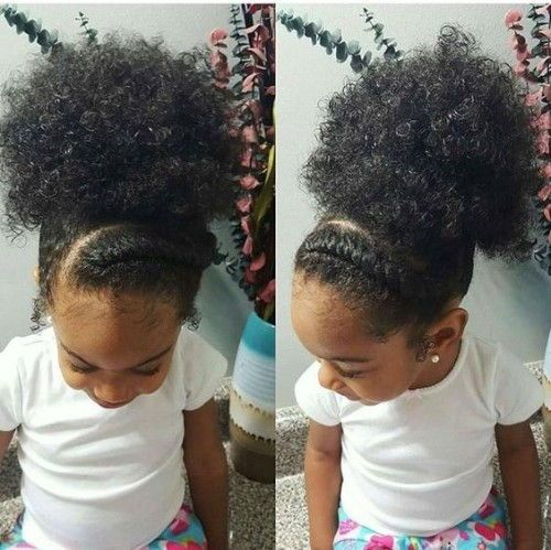 Natural Hairstyles For Little Girls
