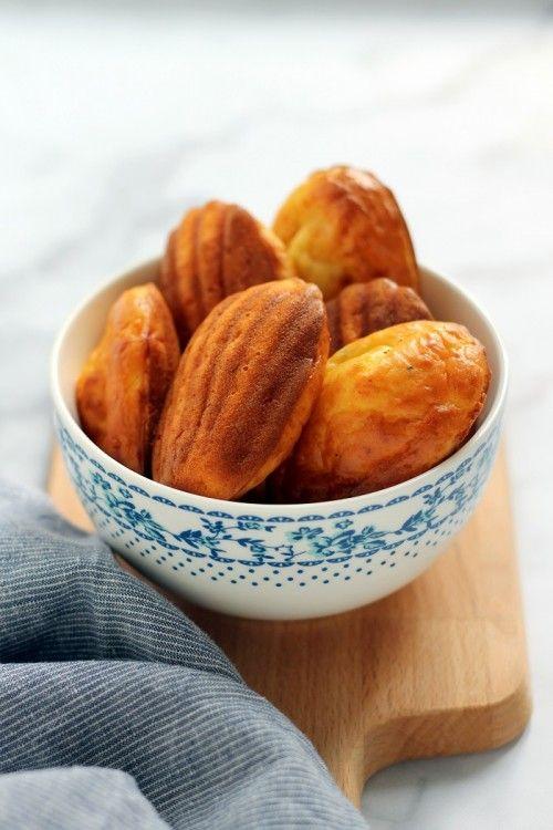 Kétsajtos madeleine recept
