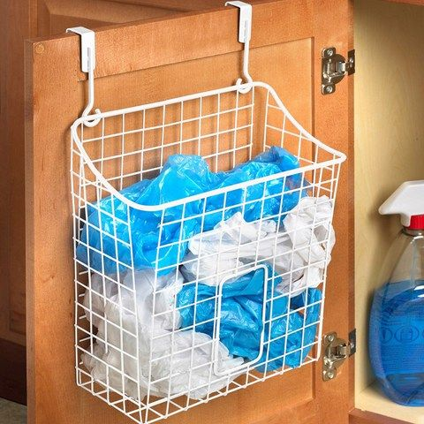 grid over the cabinet recycling bag storage products grocery bags and plastic grocery bags. Black Bedroom Furniture Sets. Home Design Ideas