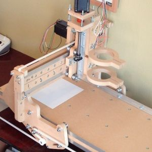 "blueChick 13""x24"" or 13""x36"" Desktop CNC Router Kit v3.0 (Timing Belt)"