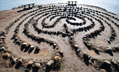 labyrinth art text - Google Search