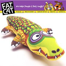 US $7.26 Fat cat cartoon crocodile pet dog Bite toy dourable big large dog chew toy dog puppy canvas Sound squeakers squeaky Toy safety. Aliexpress product