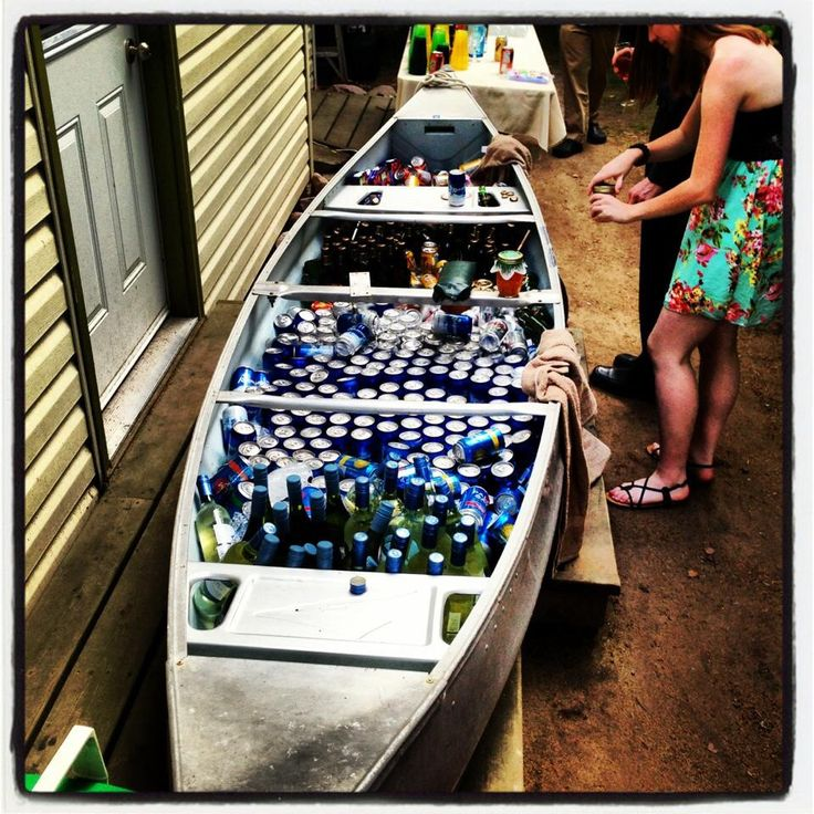 Beer canoe. No explanation needed.