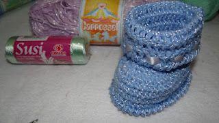 Botinhas em Crochê - Passo a Passo: Botinhas Ems, Ems Crochê, Botinha Ems