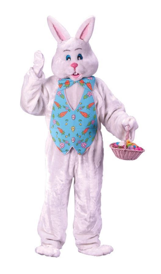 EASTER BUNNY COSTUME W HEAD #Unbranded
