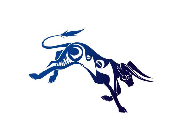 Zodiac Taurus Bull Tattoo Design For Men