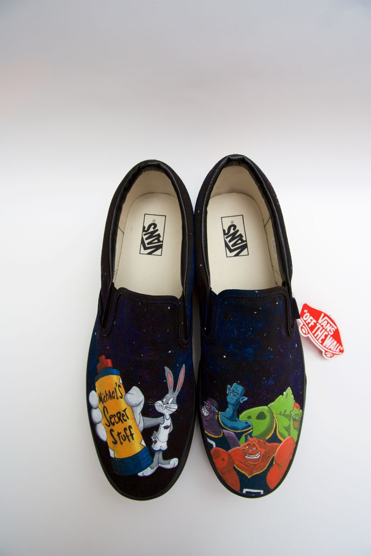"""Check out this @Behance project: """"Space Jam Vans Shoes"""" https://www.behance.net/gallery/40662433/Space-Jam-Vans-Shoes"""
